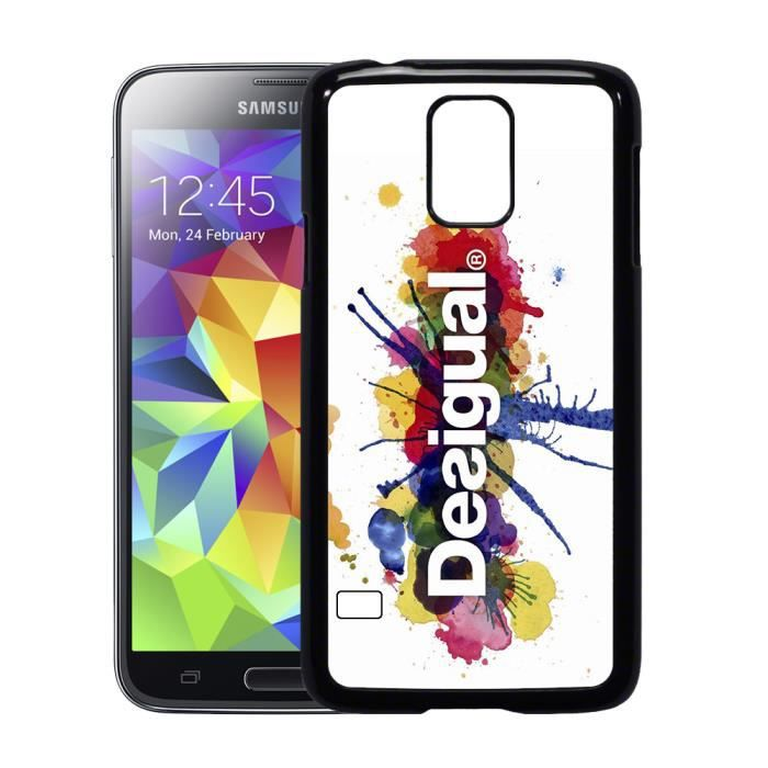 coque samsung galaxy s5 desigual achat coque bumper. Black Bedroom Furniture Sets. Home Design Ideas
