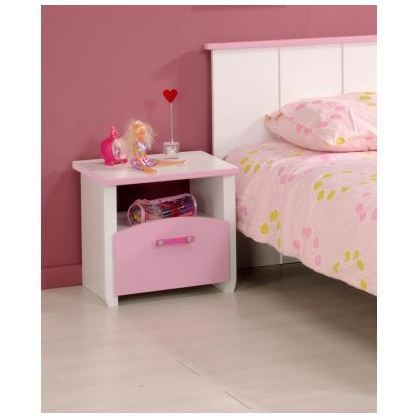 chevet enfant praline achat vente chevet chevet enfant praline cdiscount. Black Bedroom Furniture Sets. Home Design Ideas