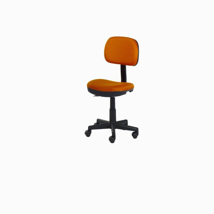fauteuil de bureau enfant lion coloris orange achat vente chaise de bureau orange cdiscount. Black Bedroom Furniture Sets. Home Design Ideas