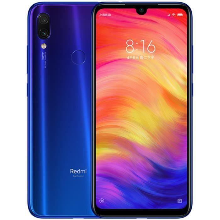 SMARTPHONE Xiaomi Redmi Note7 Bleu 64Go
