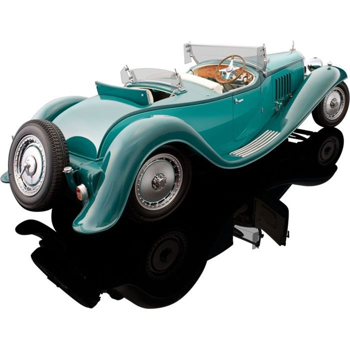 bauer 1/18 bugatti royale roadster esders - achat / vente voiture