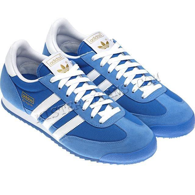 Réf : adidas g50922 dragon   cou... Bleu Bleu-azur - Cdiscount ...