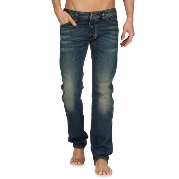 jeans diesel homme safado 0807u regular slim straight bleu bleu sable achat vente jeans. Black Bedroom Furniture Sets. Home Design Ideas