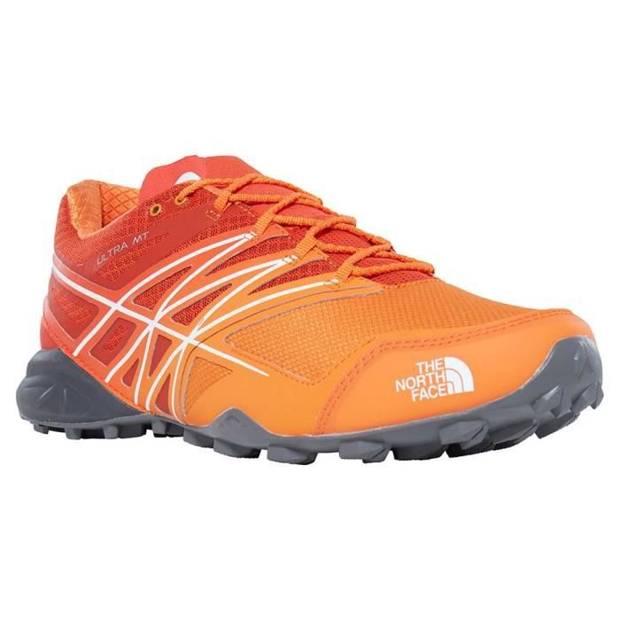 The North Face M Ultra Vertical Vibram Megagrip, Flashdry Trail Running Sneakers & Tennis Basses Femme.