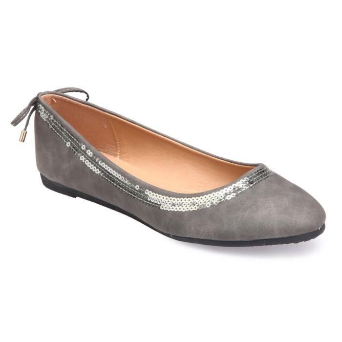 Think kapsl Ballerine Dans Grandes Tailles Multicolore 4-84059-92 grandes Chaussures Femmes