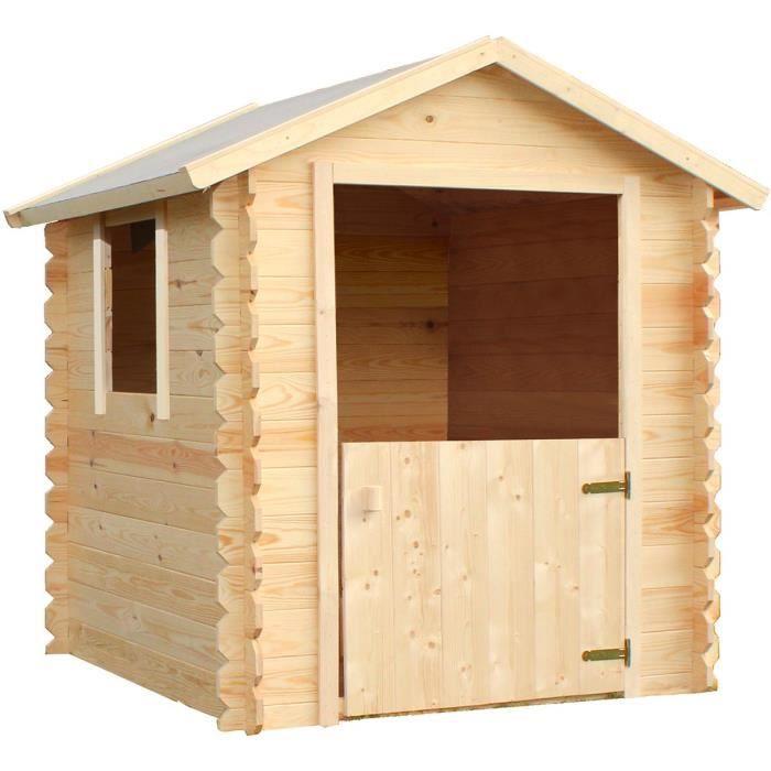 MAISONNETTE EXTÉRIEURE Cabane en bois pour enfant  LISON