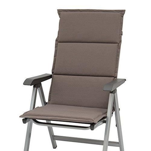 sun garden 10187961 coussin pour fauteuil bas rev tement polyester coton fibre 105 x 50 x 4 cm. Black Bedroom Furniture Sets. Home Design Ideas