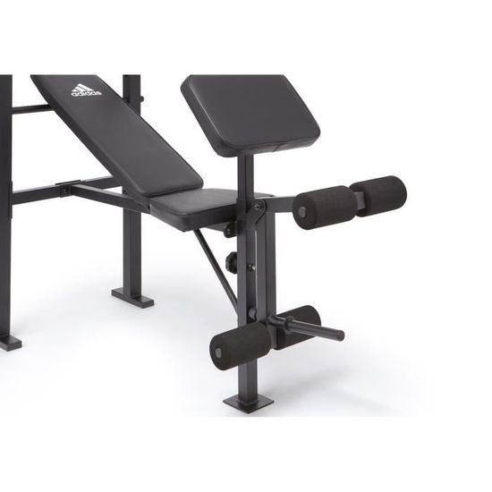 Adidas Essential Workout Banc De Musculation Mixte Adulte Noir