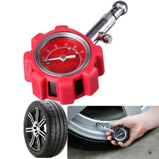 Moto voiture van de pression de pneu Guage Meter Testeur Air Cadran Checker 5-100 PSI