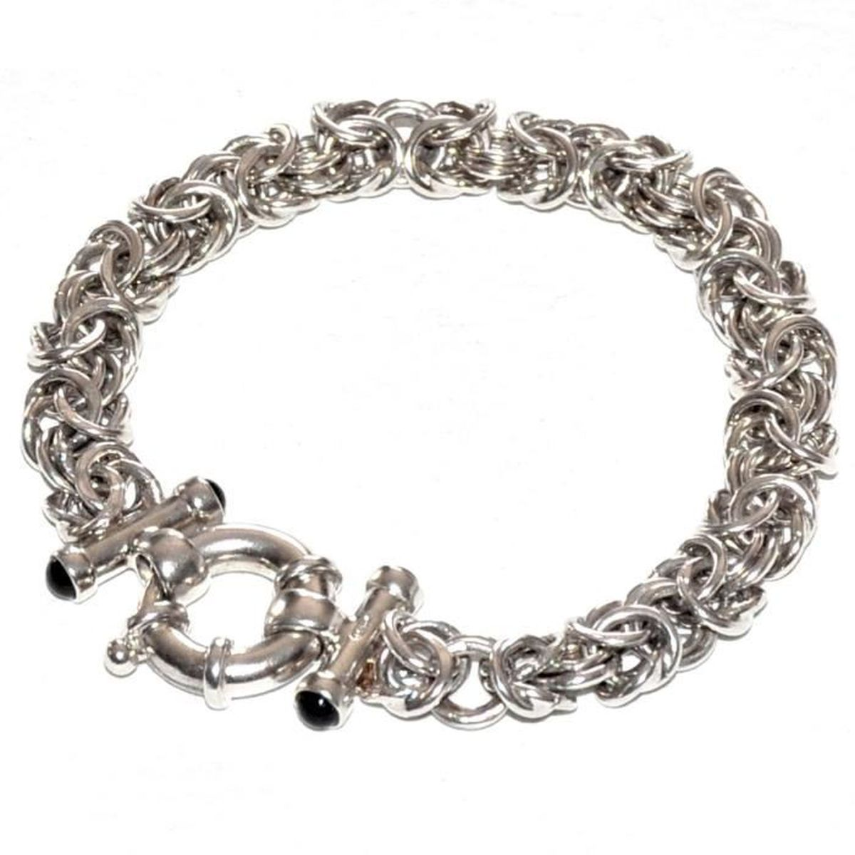 bracelet femme grosse maille