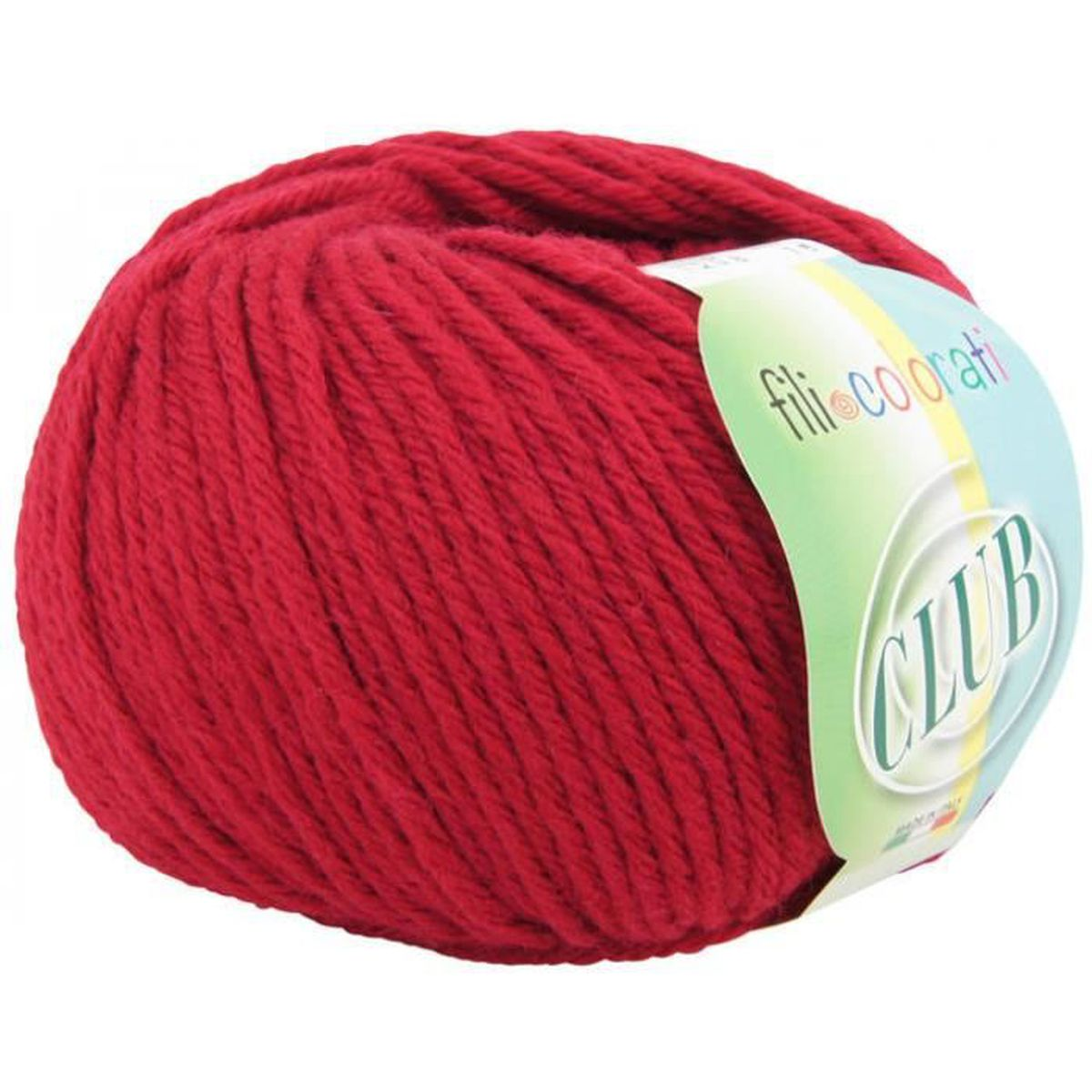 6804506e2193 LAINE TRICOT - PELOTE Pelote laine Mérinos MABELAN CLUB N°6 7 - Rouge