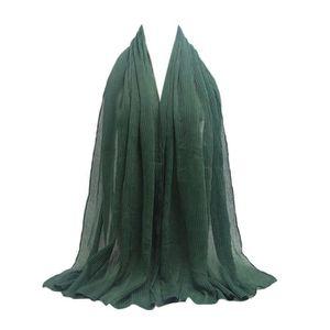ECHARPE - FOULARD TR023 # foulards foulards froissés en coton et lin