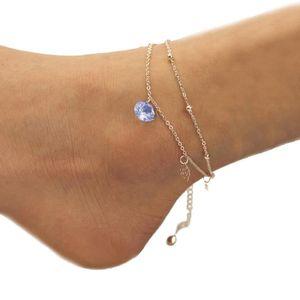 CHAINE DE CHEVILLE chaine de cheville Femmes Rose Bracelet de Chevill