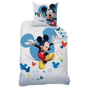 HOUSSE DE COUETTE ET TAIES Parure de couette Disney Mickey Story - 1 housse d