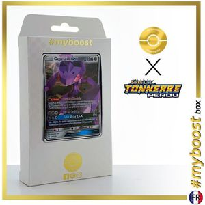 CARTE A COLLECTIONNER GENESECT GX 130-214 - #myboost X Soleil & Lune 8 T