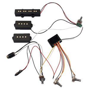 PARTITION 3 bandes égaliseur EQ préampli Circuit basse tonal