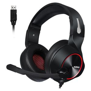 CASQUE AVEC MICROPHONE NUBWO Casque Gamer PS4,N11 Casque Gaming Xbox One