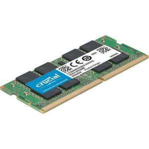 MÉMOIRE RAM Mémoire CRUCIAL 4GB DDR4 2400 MT/s (PC4-19200) CL1