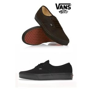 BASKET Basket Vans Authentic Noir / Noi…