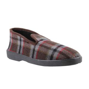 CHAUSSON - PANTOUFLE Chaussons type Charentaise - marron - homme