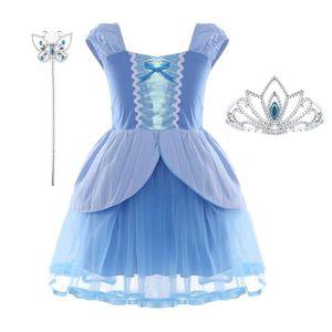 DÉGUISEMENT - PANOPLIE Déguisements Princesse Enfant Fille Bleu Ciel Bagu