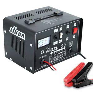 CHARGEUR DE BATTERIE Chargeur de Batterie 12V/24V, Démarreur de Batteri