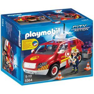 ASSEMBLAGE CONSTRUCTION Playmobil 5364 - Jeu De Construction - Véhicule D'