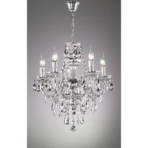 LUSTRE ET SUSPENSION Lustre baroque 5 Lampes