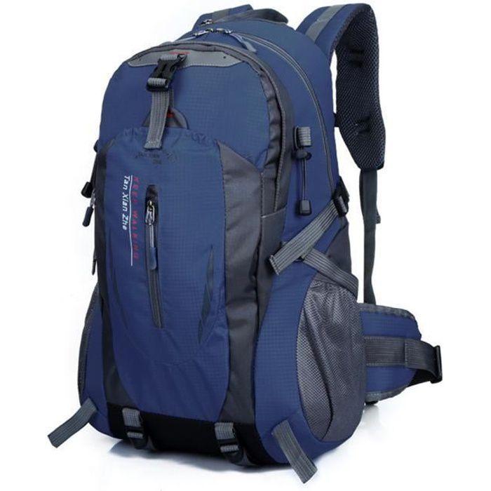 40L Outdoor randonnée Camping sac à dos en nylon étanche YJL60712767DB