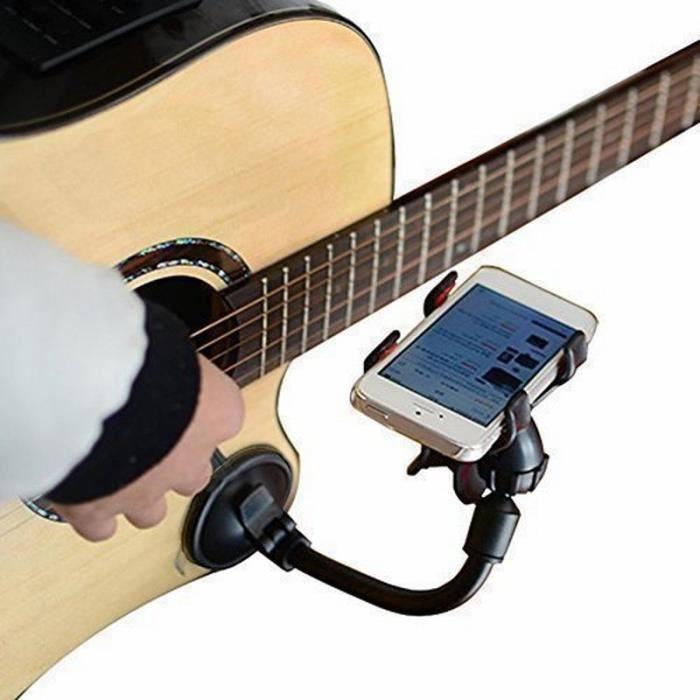 Portefeuille guitare Sidekick universel Smartphone soutien voiture Support pour téléphone pour iPhone 6 s Plus 6 Samsu -EZPTESA09528