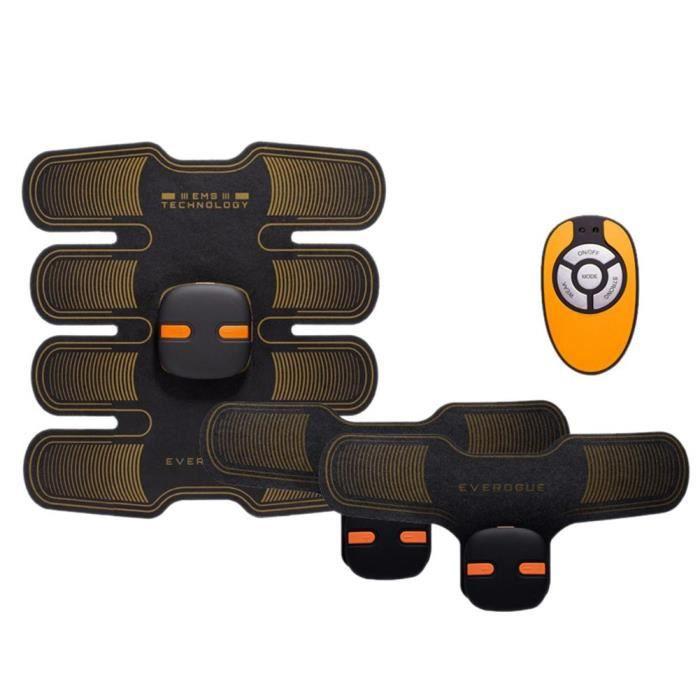 Version améliorée amincissant le corps amincissant la Machine accessoires de Fitness abdominaux éle - Modèle: Orange - HSJSZHA09437