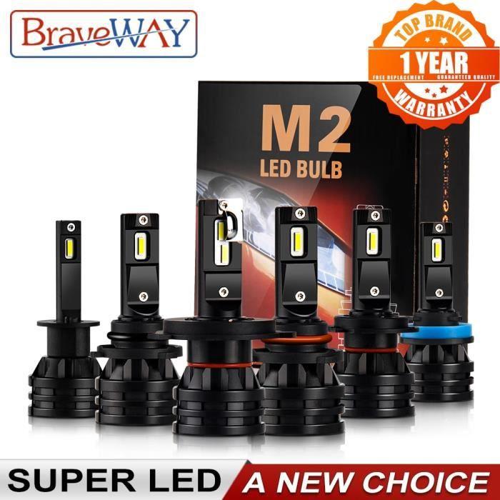 LED H4 16000LM Voiture LED H1 H7 H11 Moto Ampoule 12V Auto H4 LED Moto Phare H7 HB3 HB4 9005 9006 H8 H11 H3 Brou H4-1 PC -WM1664