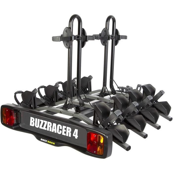 BUZZRACER 4 Porte-vélo sur attelage - Plateforme 4 vélosA3