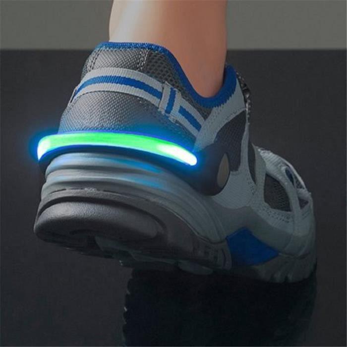 Clip lumineux pour chaussures ou baskets