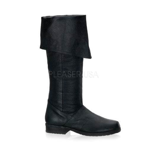 Funtasma MAVERICK-8812 1 1/2 Inch Heel, Knee Hi Pig Lea Boot