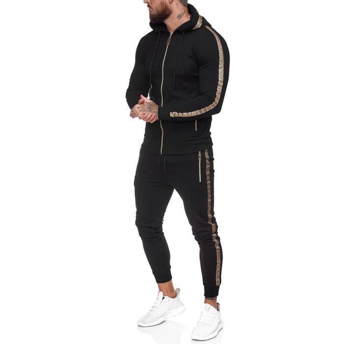 Ensemble jogging homme Survêt 1424 noir M