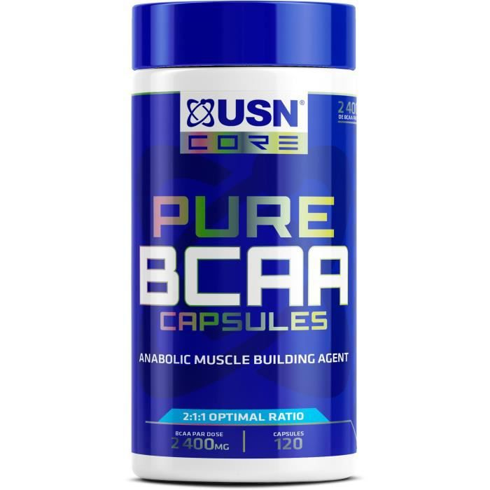 USN Supplément d'acides aminés BCAA - 120 capsule
