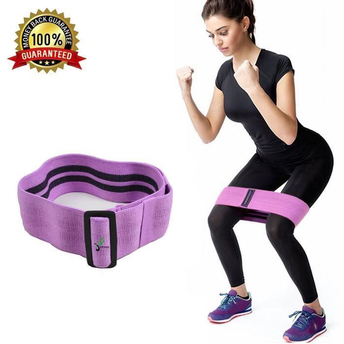 XICHAO - Bandes de Résistance élastique longueur réglable pour salle de Gym, exercice, Yoga