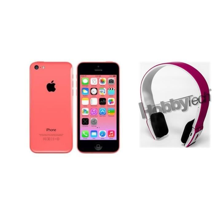 apple iphone 5c 16 go rose tout op rateur achat vente smartphone apple iphone 5c. Black Bedroom Furniture Sets. Home Design Ideas
