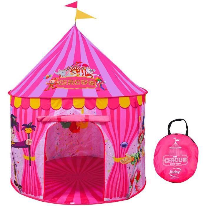 ninclut Pas Les balles Tente de r/êve pour Enfants Tente de Princesse Rose Jeu de Tente tipi Tunnel Rampant oc/éan /à balles 3 en 1 Jouet de Terrain de Jeu