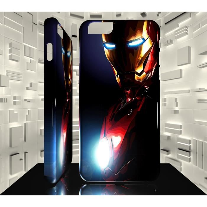 coque iphone 7 iron man