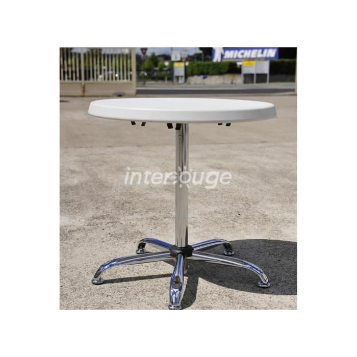 Table de bar mange debout modulable 4 personnes achat for Table exterieur modulable