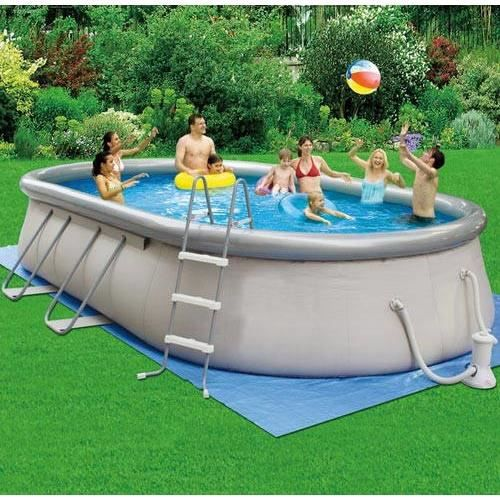 Piscine hors sol autoportante 6 10 x 3 66 x 1 22m achat for Piscine autoportante