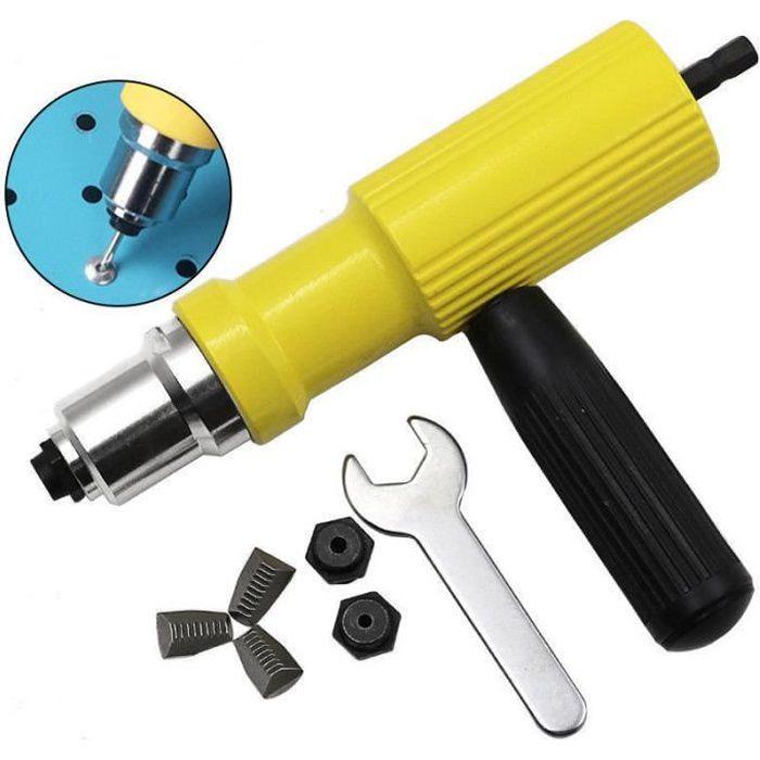Riveteuse électrique Pistolet à riveter Pinces à riveter Adaptateur