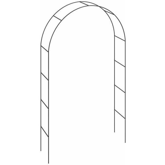 Arcade De Rosiers 240x140x37cm Roses Et Plantes Grimpantes Jardin Allee Entree Achat Vente Arche Arcade De Rosiers 240x140x3 Cdiscount