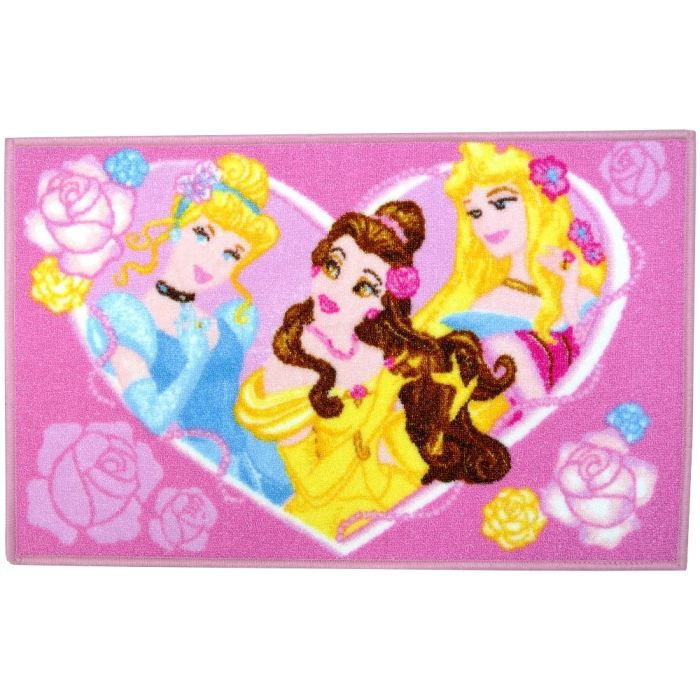 tapis disney princesse chambre enfant jeux sort achat vente tapis cdiscount. Black Bedroom Furniture Sets. Home Design Ideas