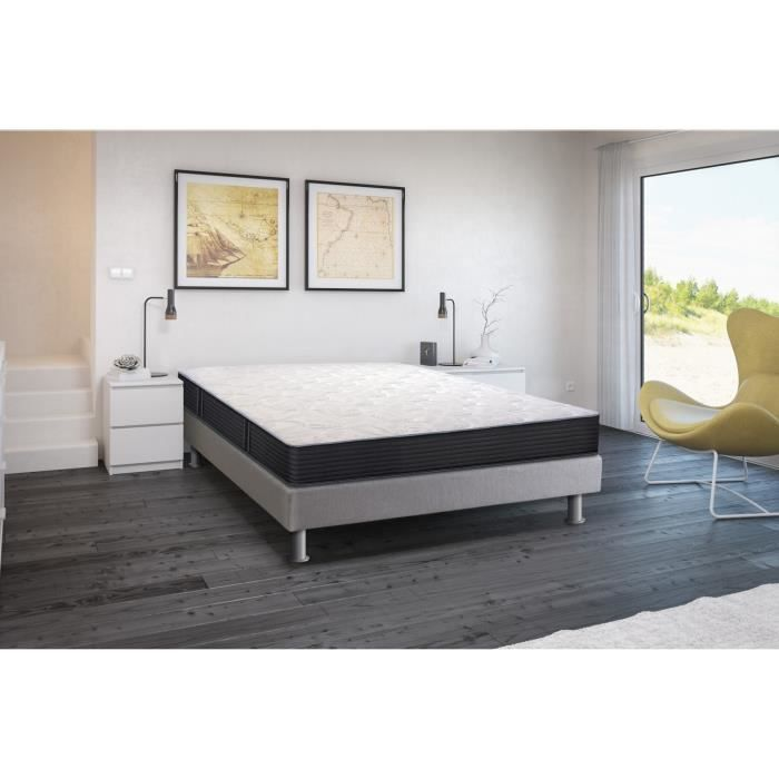 creasom illusion matelas 160x200 cm mousse et latex equilibr 33kg m et 60kg m 2. Black Bedroom Furniture Sets. Home Design Ideas