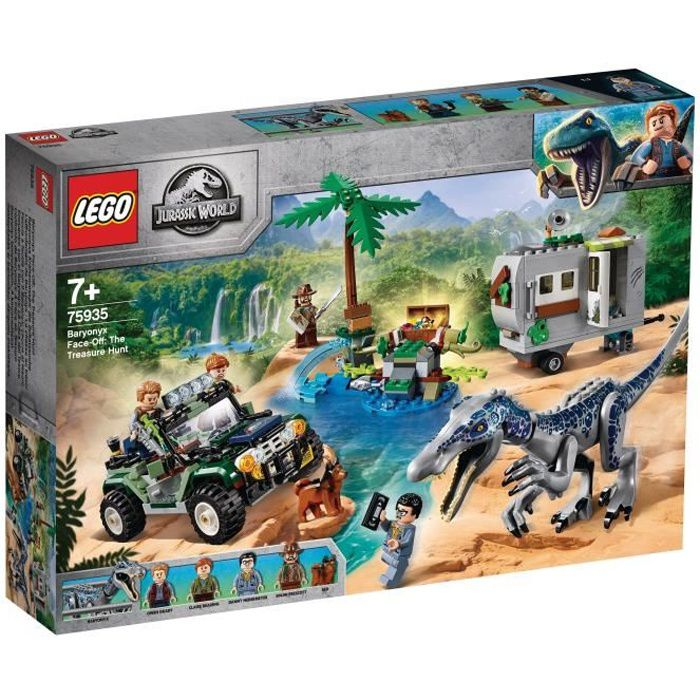 Photo de lego-jurassic-world-75935-laffrontement-du-baryonyx-la-chasse-au