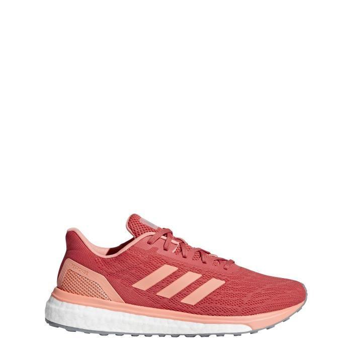 ADIDAS Chaussures de running Response - Femme - Rose saumon ...