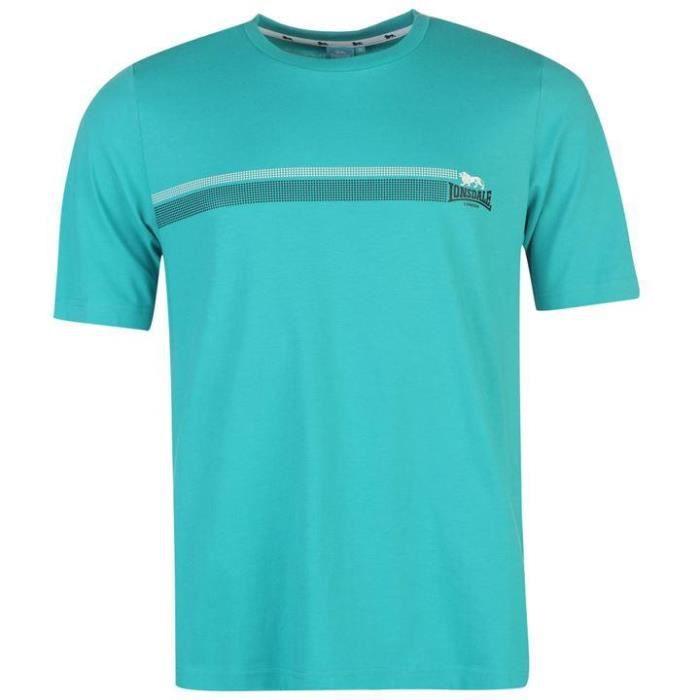 T-Shirt Homme LONSDALE Du L au XXL Taille Grand Neuf